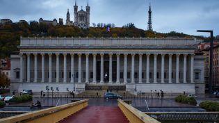 Le palais de justice de Lyon, le 11 avril 2015. (ALEXEI DANICHEV / RIA NOVOSTI / AFP)