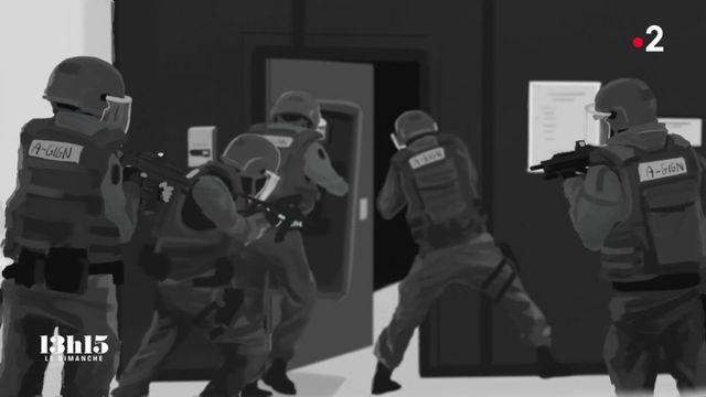 VIDEO. L'assaut qui a mis fin à l'attaque terroriste dans un supermarché de Trèbes après le geste héroïque d'Arnaud Beltrame