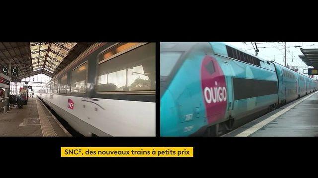 SNCF : de nouveaux trains à petits prix