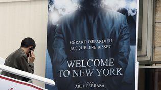 """""""Welcome to New York"""" d'Abel Ferrara sera diffusé dans un cinéma cannois, en marge du festival, le samedi 17 mai 2014. (VALERY HACHE / AFP)"""