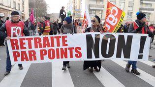 Illustration. Plus de grève en France ? C'est en tout cas ce qu'a affirmé l'eurodéputée Nathalie Loiseau sur une chaîne de télévision britannique. (CORINNE FUGLER / RADIO FRANCE)