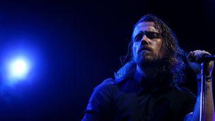 """Après presque 200 concerts depuis la sortie de """"LØVE"""" en 2013, Julien Doré a éprouvé le besoin de s'isoler (VIGNOLA FRAN?OIS / MAXPPP)"""