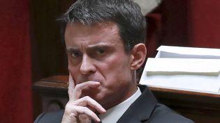 Manuel Valls à l'Assemblée nationale, le 29 novembre 2016. (JACQUES DEMARTHON / AFP)