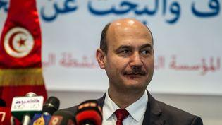 Mongi Marzouk, ministre de l'Energie et des Mines, à Tunis, le 14 juin 2016. (AMINE LANDOULSI / ANADOLU AGENCY)