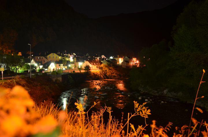 Le village de Sarrance (Pyrénées-Atlantiques), le 28 septembre 2018. (THOMAS BAIETTO / FRANCEINFO)