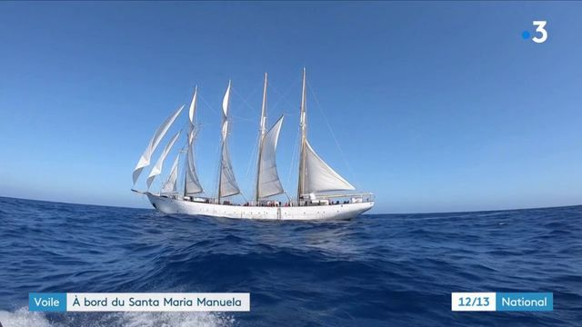 Voile : la seconde vie du Santa Maria Manuela