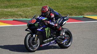 Fabio Quarataro est l'actuel leader au championnat du monde de MotoGP. (GIGI SOLDANO / GIGI SOLDANO)