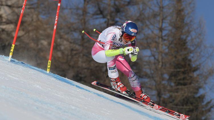 Mikaela Shiffrin (TIZIANA FABI / AFP)