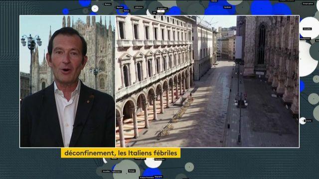 Italie : l'angoisse demeure à l'heure du déconfinement