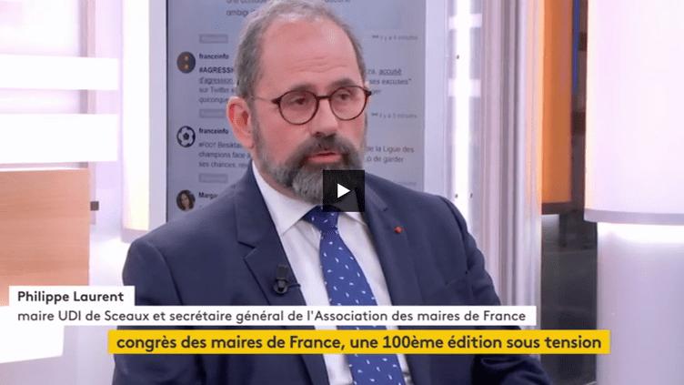 Philippe laurent, maire (UDI) de Sceaux et secrétaire général de l'Association des maires de France (FRANCEINFO)