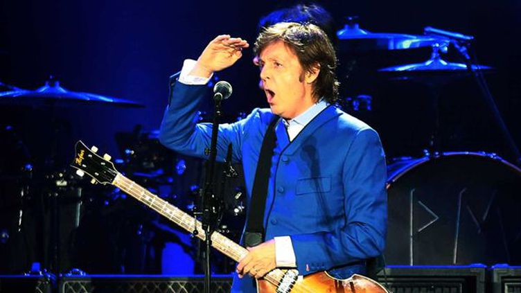 Paul McCartney à Mexico, juin 2012.  (NOTIMEX/ARCHIVO/ACE)