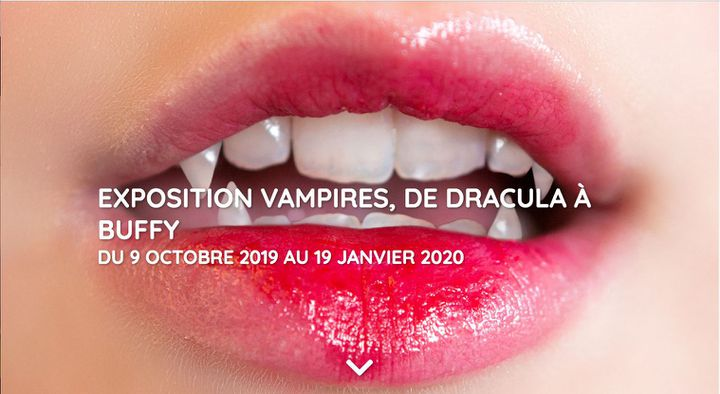 L'affiche de l'exposition de la Cinémathèque française, Vampire : de Dracula à Buffy. (Cinémathèque française)
