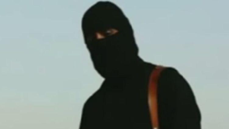 Le bourreau du journaliste américain James Foley, tel qu'il apparaît dans la vidéo de l'exécution. ( YOUTUBE)