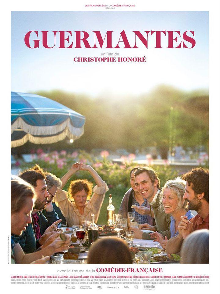 """L'affiche de """"Guermantes"""" de Christophe Honoré (2021). (MEMENTO FILMS DISTRIBUTION)"""