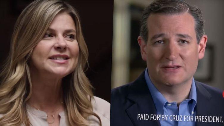 Amy Lindsay, actrice plus connue pour ses rôles dans des films érotiques, apparaît dans une publicité du sénateur Ted Cruz, candidat aux primaires républicaines. (CRUZ FOR PRESIDENT)