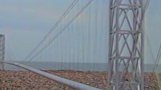 Que faut-il penser de la proposition de Boris Johnson ? Il a émis l'idée de relier la France au Royaume-Uni par un pont. Dans l'Hexagone, ce projet semble farfelu. (France 2)