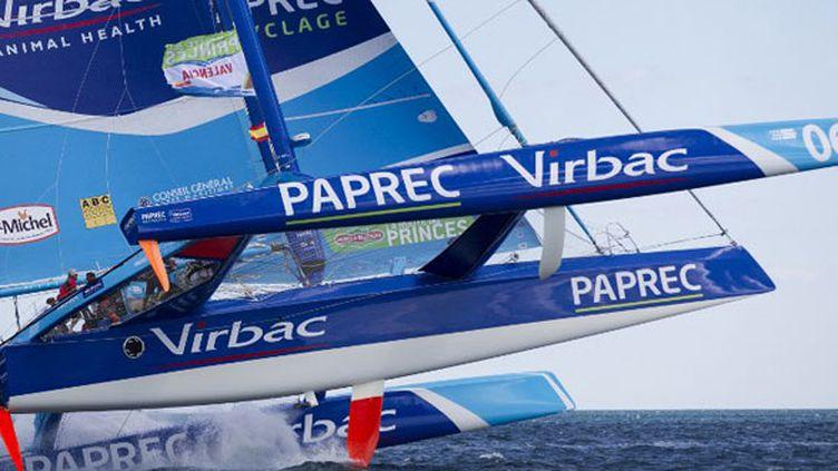Le bateau de Jean-Pierre Dick et Roland Jourdain