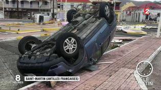 Les conséquences du passage d'Irma sur l'île de Saint-Martin (France 2)