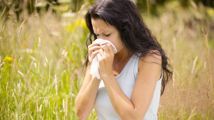 Les pollens de graminés provoquent des allergies. (MARTIN LEIGH / CULTURA CREATIVE / AFP)