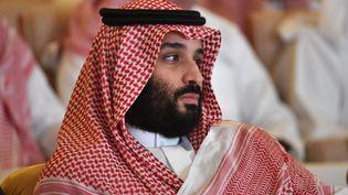 Le prince héritier d'Arabie saoudite Mohammed ben Salmanle 23 octobre 2018. (FAYEZ NURELDINE / AFP)