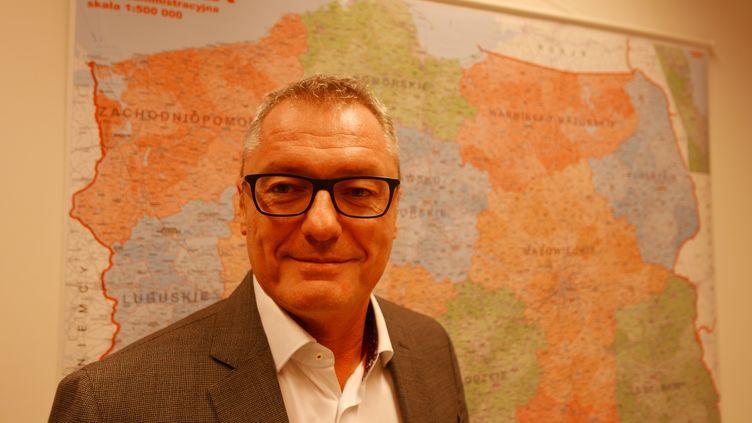 """Frédéric Faroche, directeur de Véolia :""""On a prévu d'ouvrir cette année à Varsovie notre propre centre de formation en Pologne"""" (Photo Emmanuel Langlois)"""