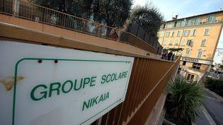 Entrée de l'école Nikaia, à Nice, en 2007. (MAXPPP)
