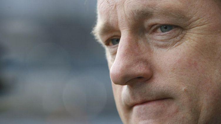 Le technicien irlandais Eddie O'Sullivan (PETER MUHLY / AFP)