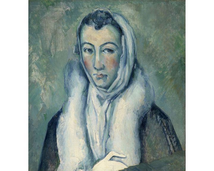 """Paul Cezanne, """"D'après le Greco, La Femme à l'hermine"""", 1885-1886, Avec l'aimable autorisation de la Daniel Katz Gallery, Londres (© Daniel Katz Gallery London)"""