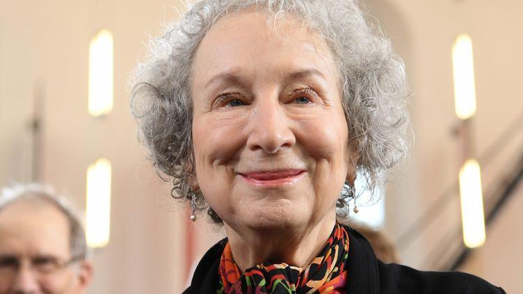 La romancière Margaret Atwood, 15 octobre 2017  (ARNE DEDERT / DPA)