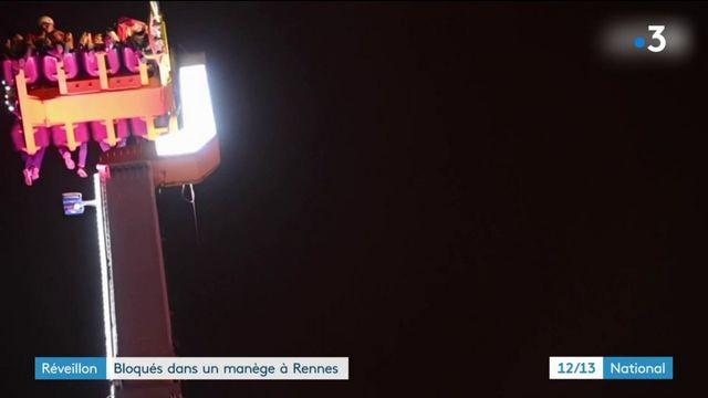Réveillon : bloqués dans un manège à Rennes