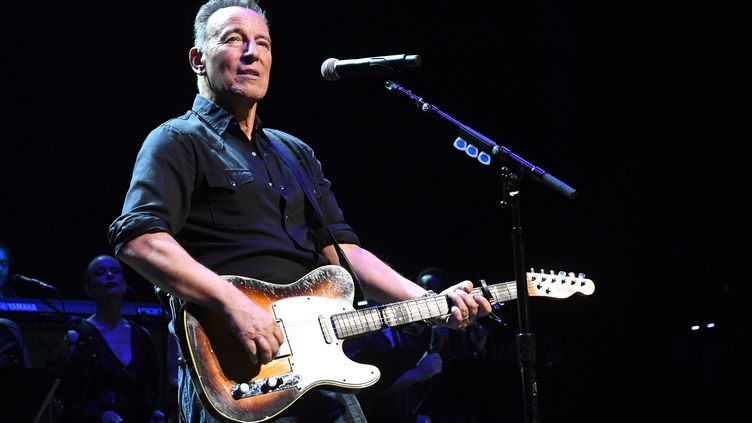 Bruce Springsteen en concert en décembre 2019 à New York.  (KEVIN MAZUR / GETTY IMAGES NORTH AMERICA)