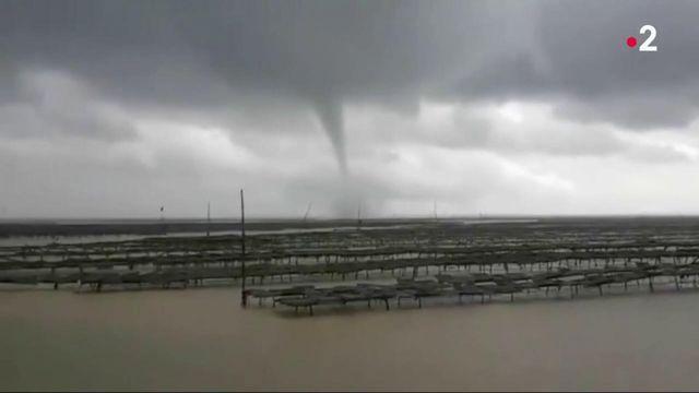 Charente-Maritime : une tornade provoque de nombreux dégâts