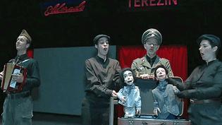 """""""Eldorado Terezin"""" par la compagnie Rodéo d'âme exhume avec humour les horreurs du régime nazi  (France 3 / Culturebox )"""