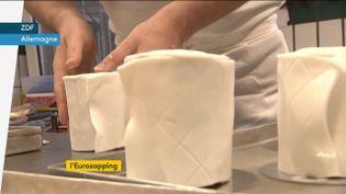 Un rouleau de papier toilette à manger (FRANCEINFO)