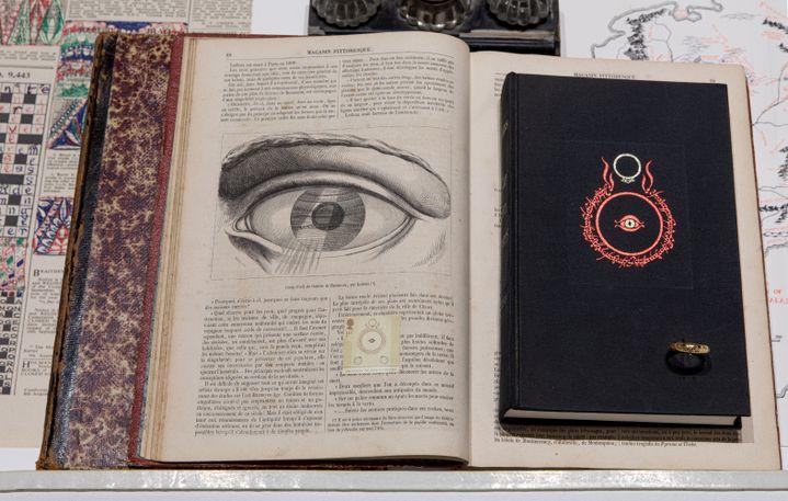 """La figure de l'œil est le point de départ de l'exposition """"Fantaisies Héroïques"""". (Origins studio)"""