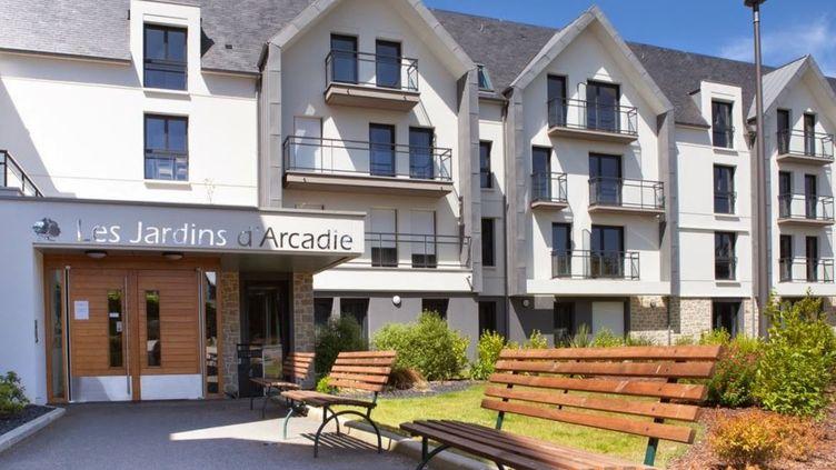 """La résidence """"Les Jardins d'Arcadie"""" à Pléneuf-Val-André (Côtes-d'Armor). (GOOGLE MAPS)"""