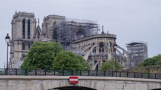 La cathédrale Notre-Dame de Paris, le 16 avril 2019. (BENJAMIN FILARSKI / HANS LUCAS / AFP)