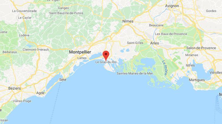 L'accident s'est produit lors d'un lâcher de taureaux traditionnel au Grau-du-Roi, dans le Gard. (GOOGLE MAPS)