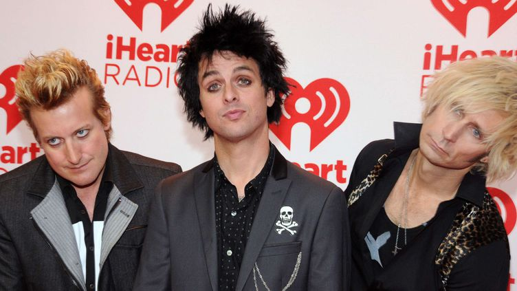 Green Day, le 21 septembre 2012, à Las Vegas.  (Rex Features/REX/SIPA)