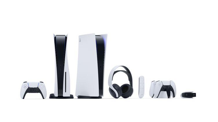 Les nouvelles consoles PS5 et leurs accessoires dévoilés par Sony, le 11 juin 2020. (SONY INTERACTIVE ENTERTAINMENT)