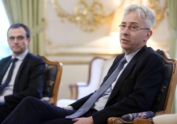 Le préfet Didier Lallement, à Bordeaux (Gironde) le 13 décembre 2017. (MAXPPP)