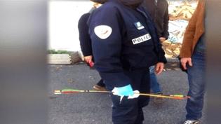 Flèche tirée sur une école à Marseille (FRANCE 3)