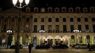 L'hôtel de luxe du Ritz à Paris. (THOMAS SAMSON / AFP)
