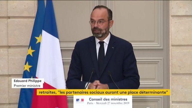 """VIDEO. Réforme des retraites : Edouard Philippe """"prêt à discuter"""" des modalités de la """"clause du grand-père"""""""
