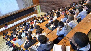 """Le gouvernement lance mercredi un portail d'information, """"trouvermonmaster.gouv.fr"""", pour aider les étudiants en fin de licence à trouver une formation en master (illustration). (PHILIPPE RENAULT / MAXPPP)"""