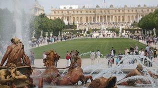 La fréquentation a baissé de 10% au Château de Versailles en 2016. (MAXPPP)