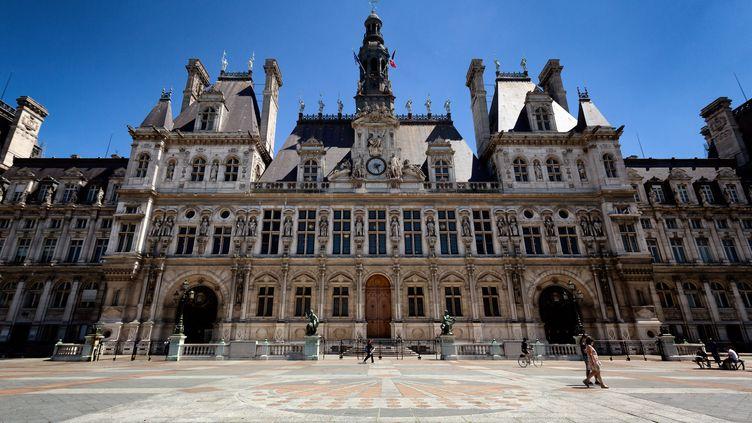 L'Hôtel de Ville de Paris. (MARTIN NODA / HANS LUCAS VIA AFP)