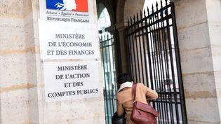 L'entree du ministère de l'Economie et des Finances (illustration). (ALEXIS SCIARD  / MAXPPP)