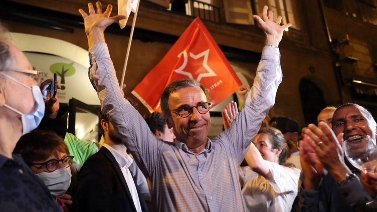 Pierre Hurmic, le nouveau maire de Bordeaux, le 28 juin 2020. (LAURENT THEILLET / MAXPPP)