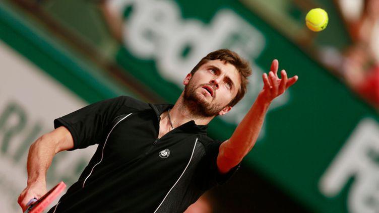 (Gilles Simon s'est qualifié pour le deuxième tour © REUTERS/Jason Cairnduff)